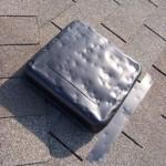 hail damaged vent