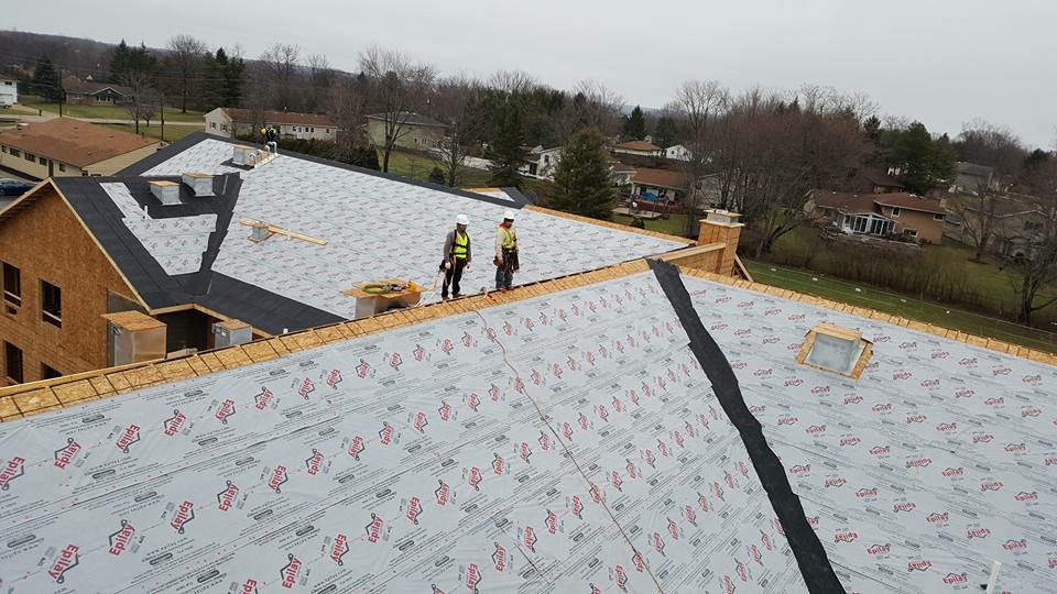 Roof installation Commerical
